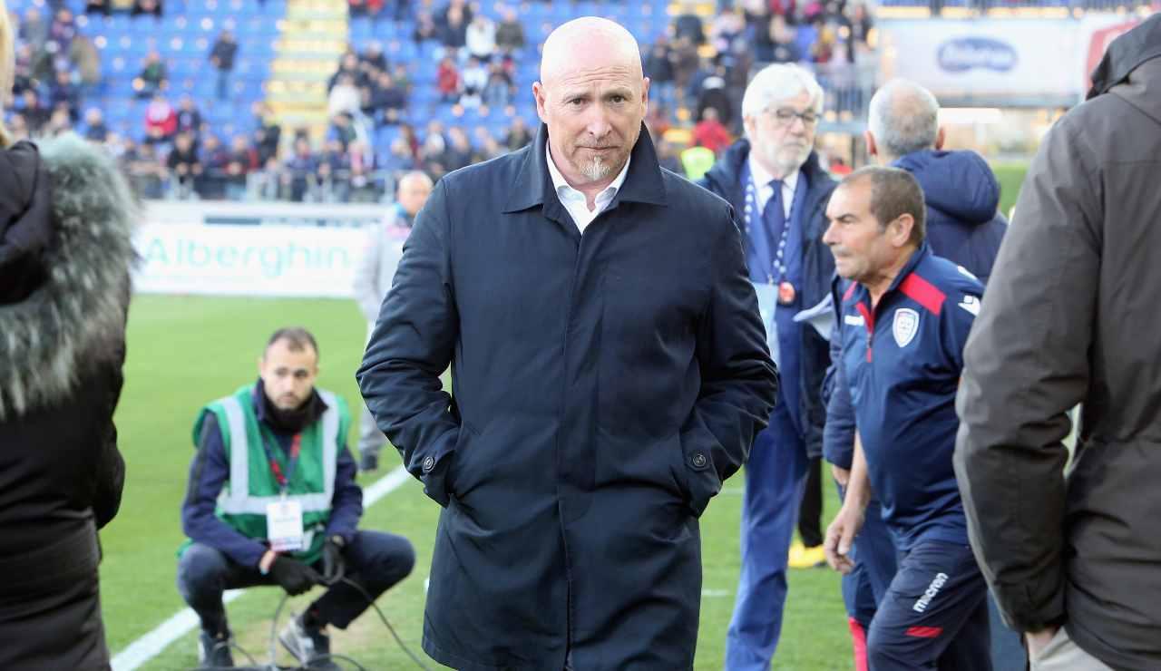 Rolando Maran esonerato Cagliari