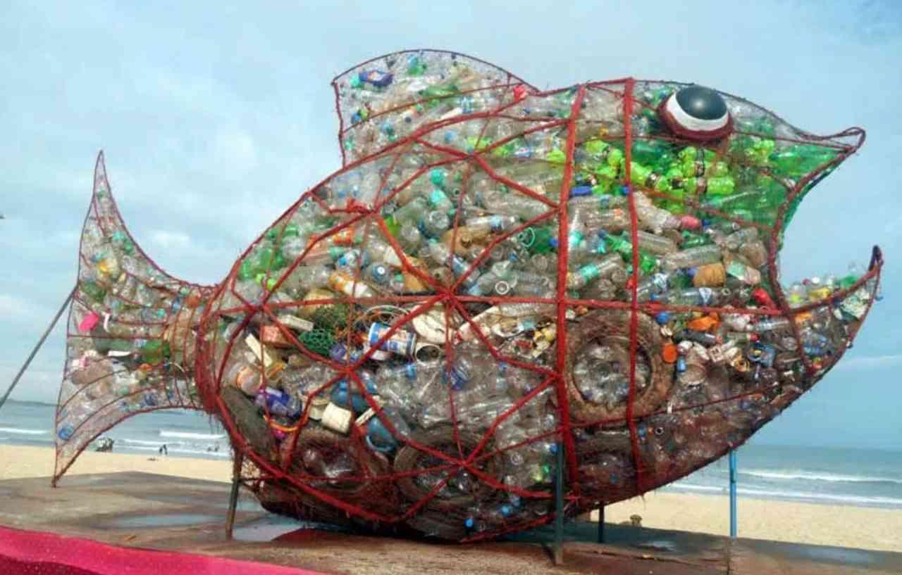 Pesce Yoshi per riciclare