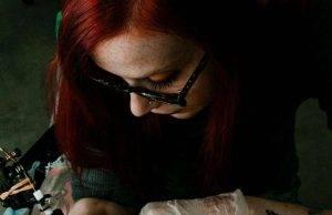 Serena Zago Coronavirus tatuaggio