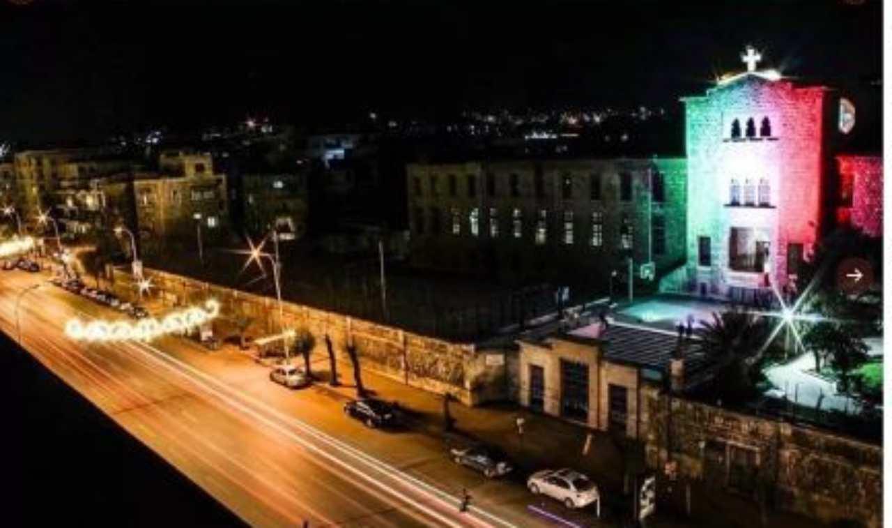 Tricolore ad Aleppo