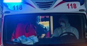 Arnasco, ambulanza