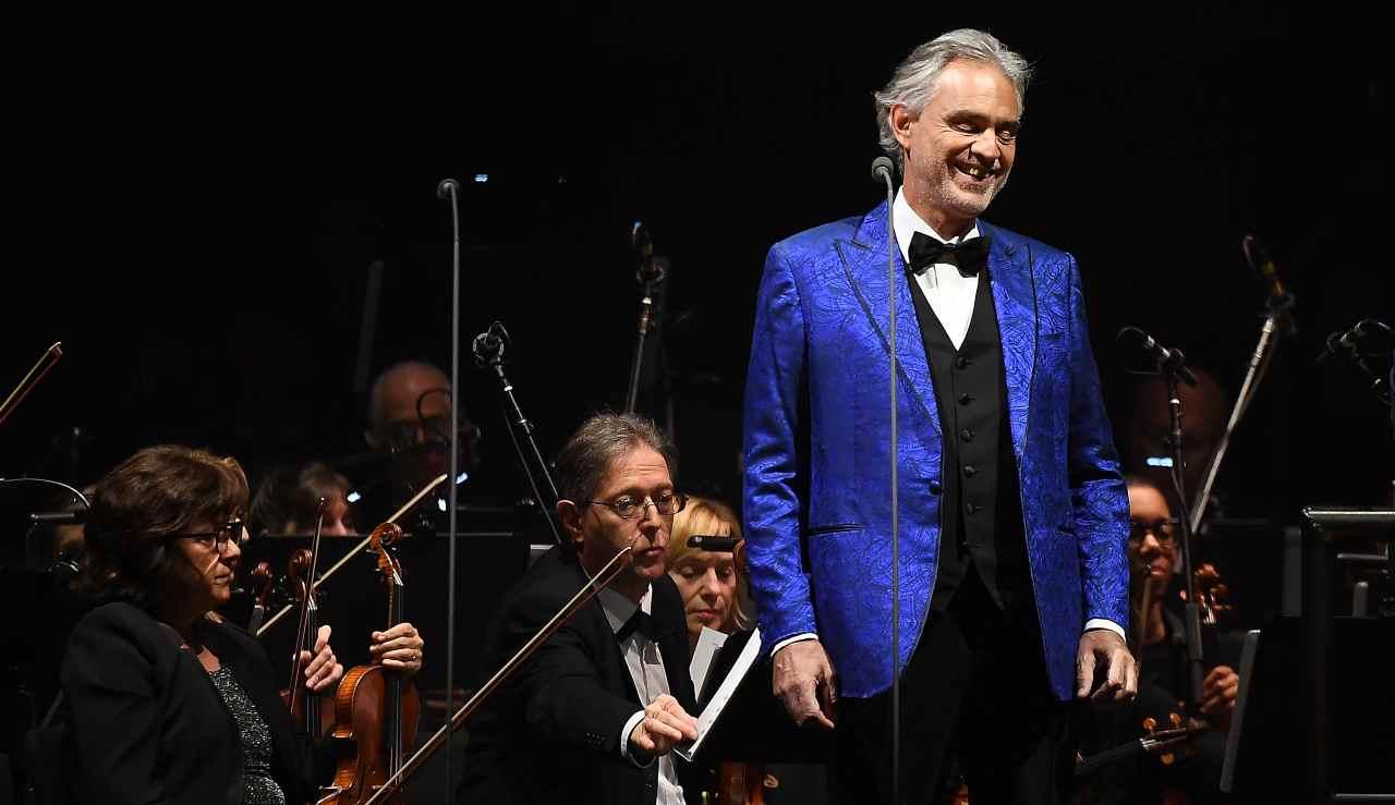 Andrea Bocelli diretta streaming concerto