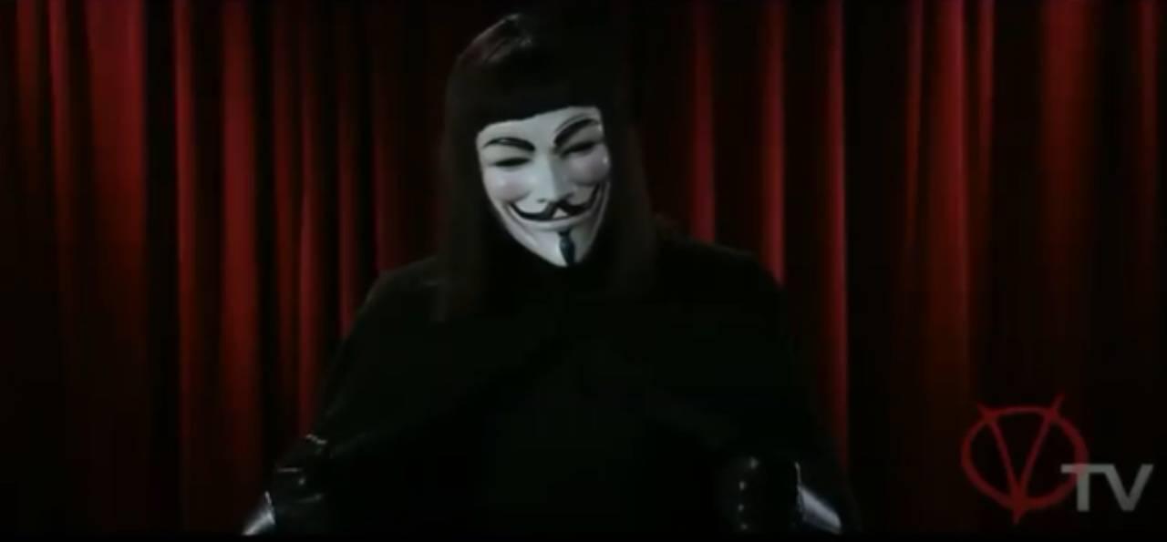 Anonymous V per Vendetta