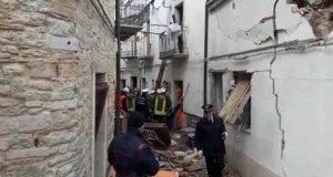 Crollo palazzine Alberona