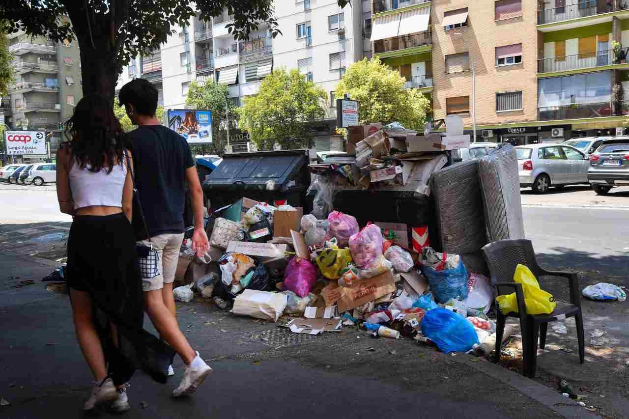 Emergenza rifiuti Italia