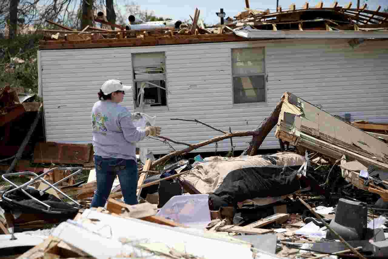 Il Mississippi squassato da tornado: sei morti