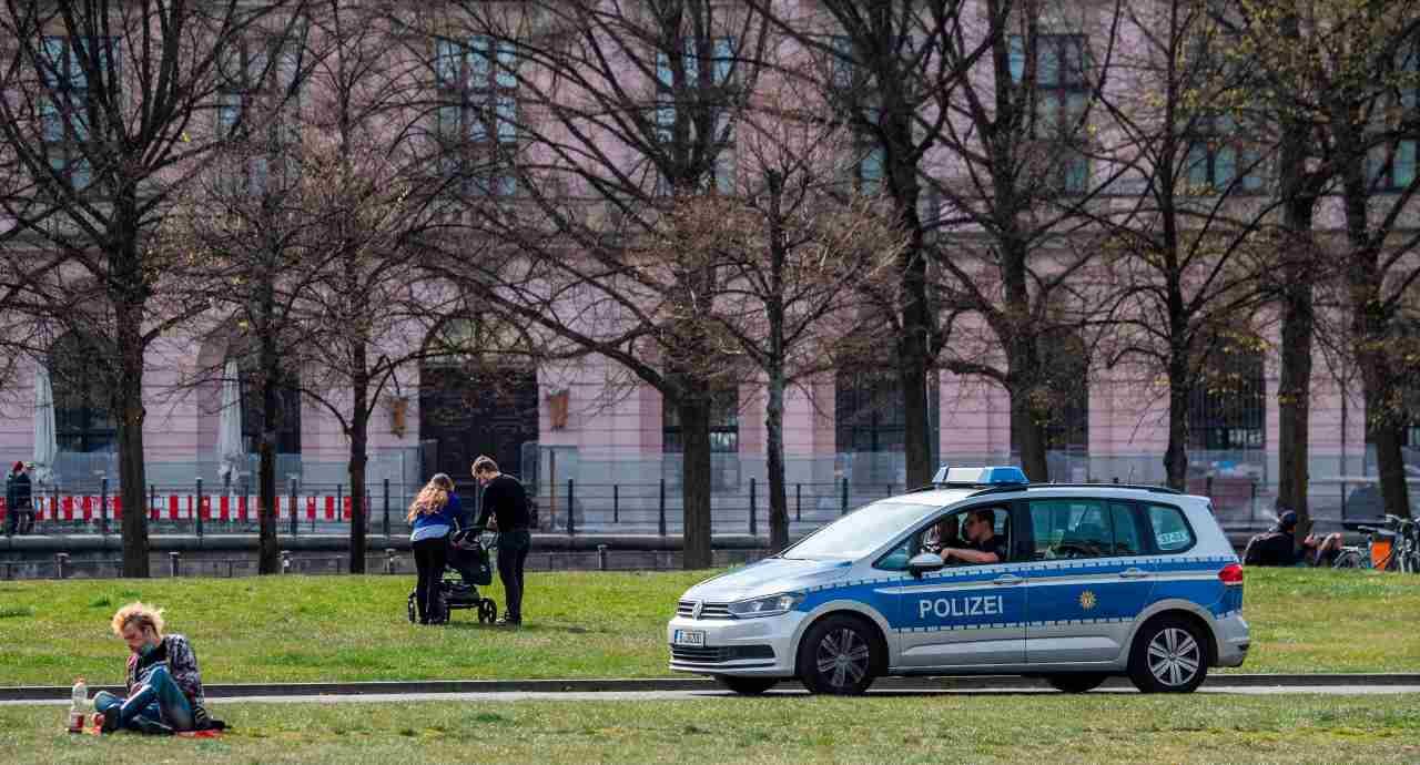 Polizia Germania furti Rsa
