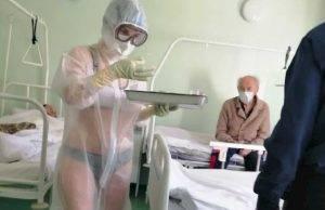 russia infermiera bikini