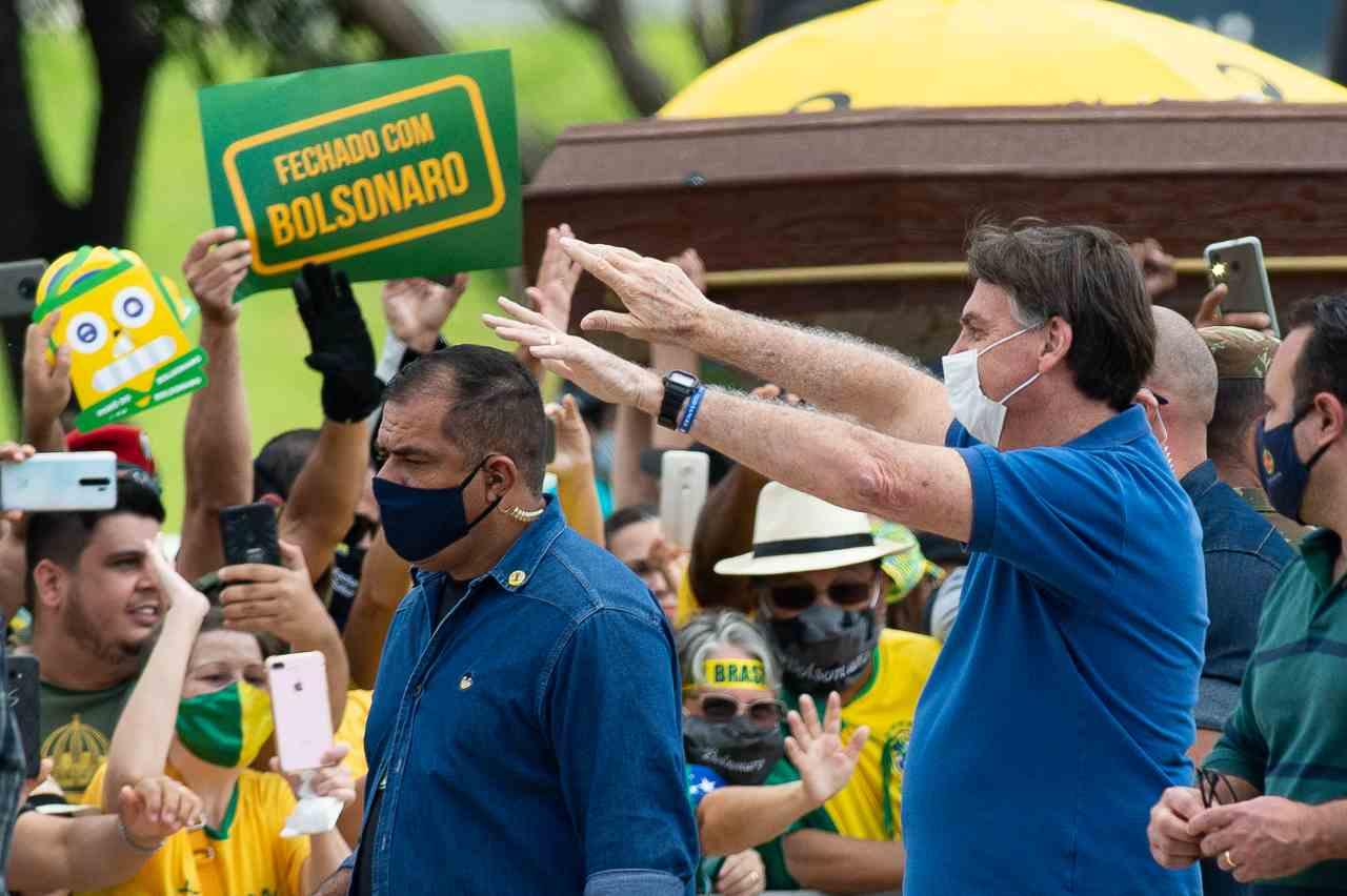 covid Brasile Bolsonaro