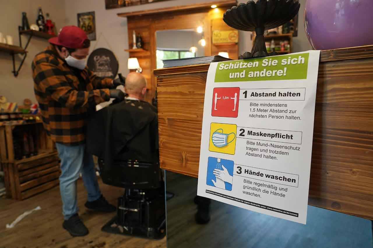 Riapertura parrucchieri