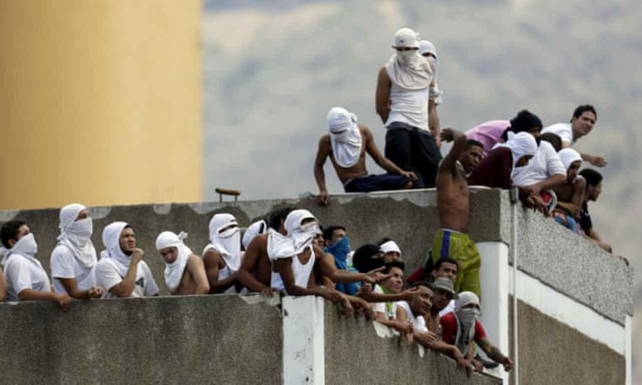 Venezuela rivolta