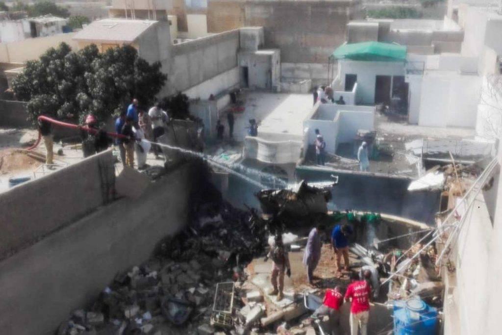 Pakistan International Airlines incidente
