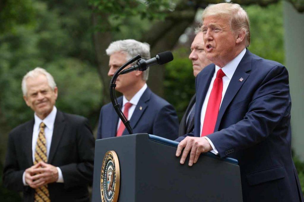 Donald Trump Cina sanzioni
