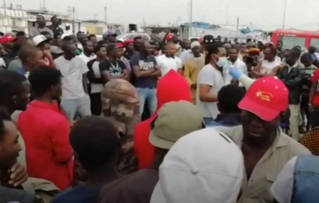 Protesta braccianti