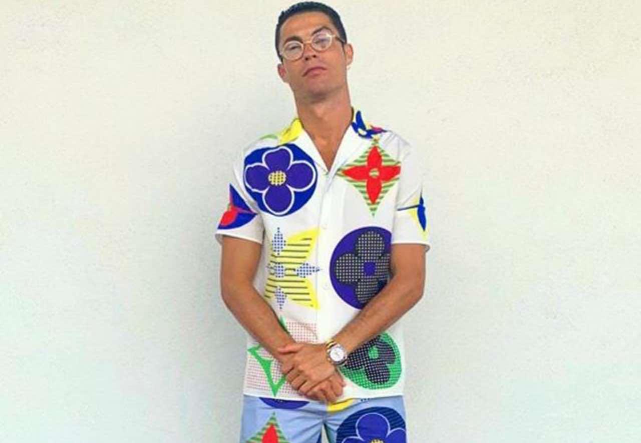 cristiano ronaldo look