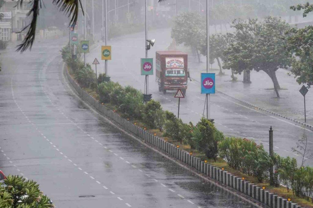 Ciclone Nisarga Mumbai