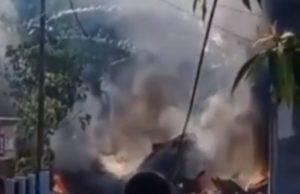 Indonesia aereo si schianta