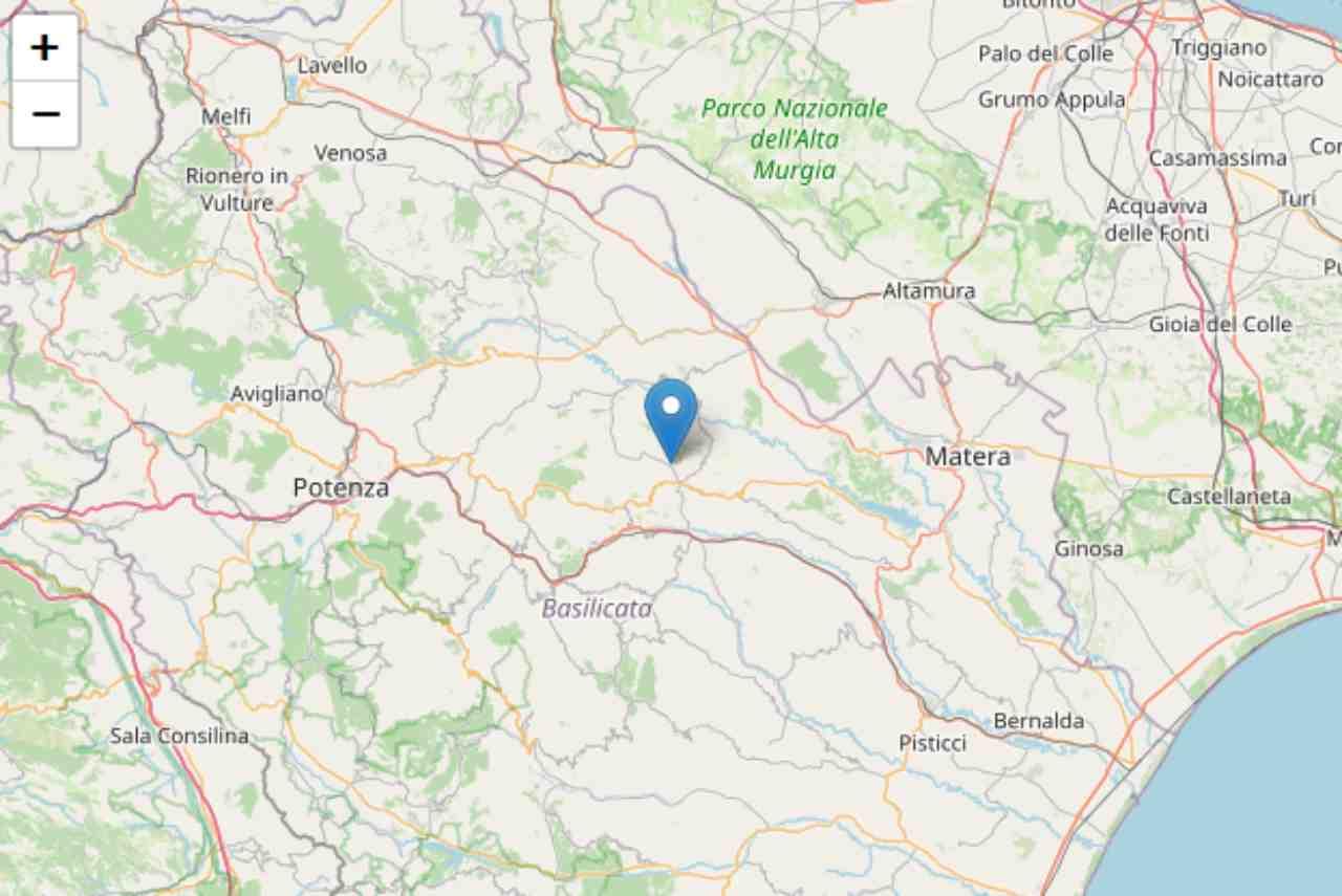 Terremoto Matera