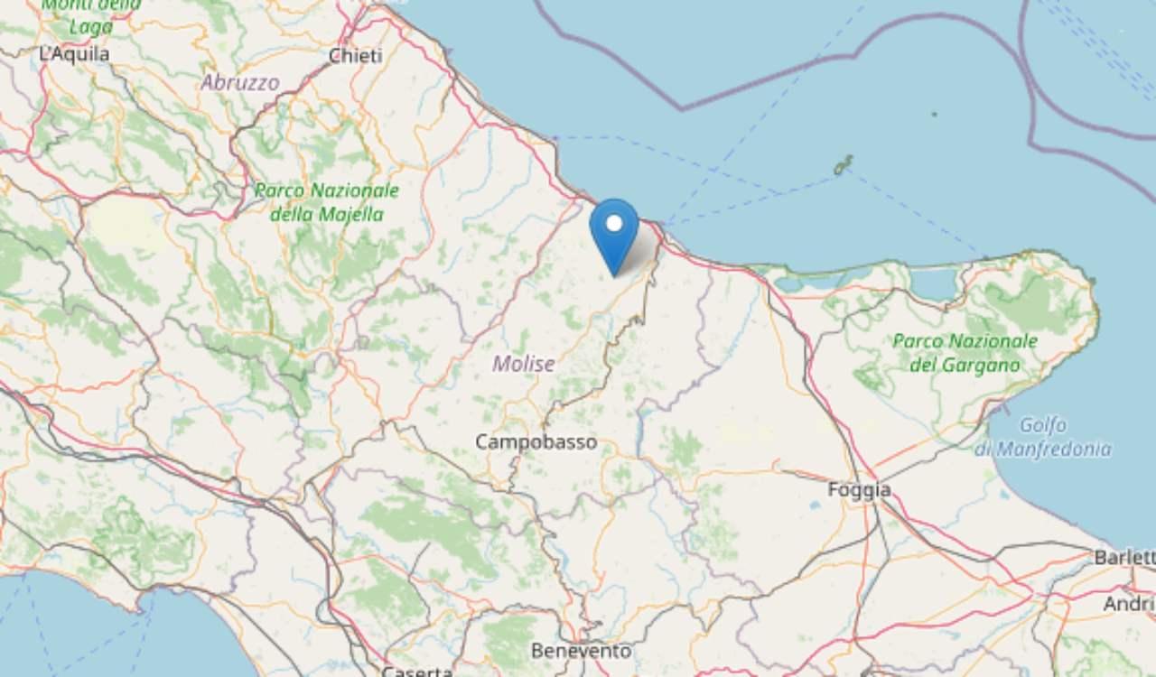 Terremoto Montecilfone