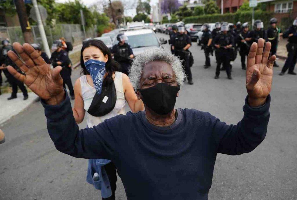 proteste morte Floyd
