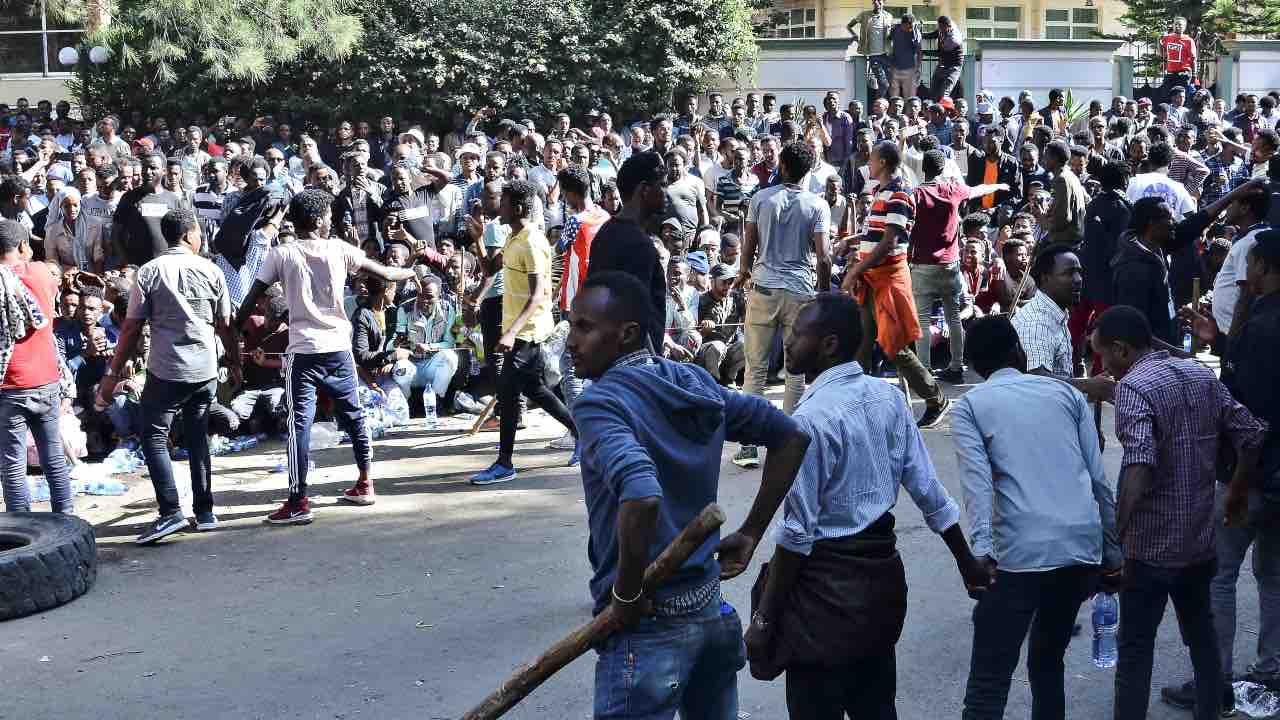 etiopia proteste