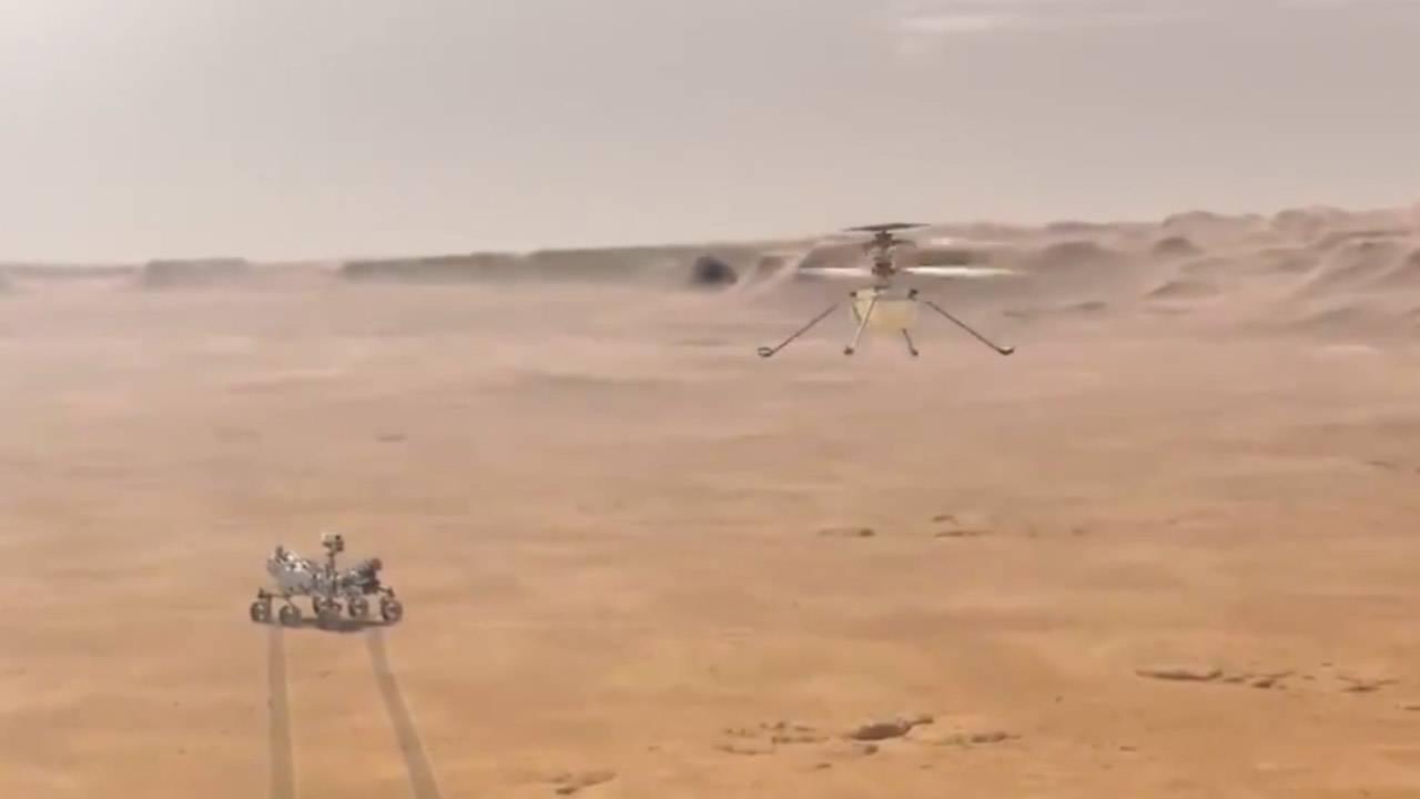 ingenuity elicottero marte