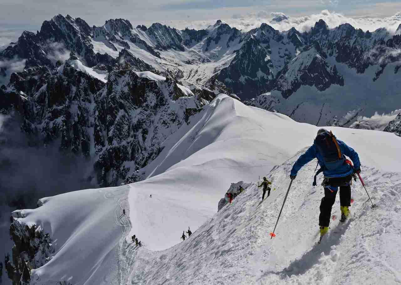 Due alpinisti morti sul Monte Bianco