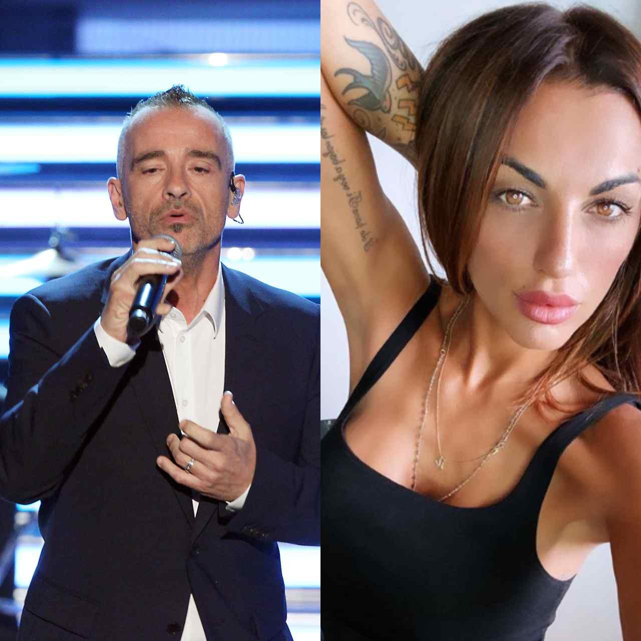 Eros Ramazzotti e Veronica Montali
