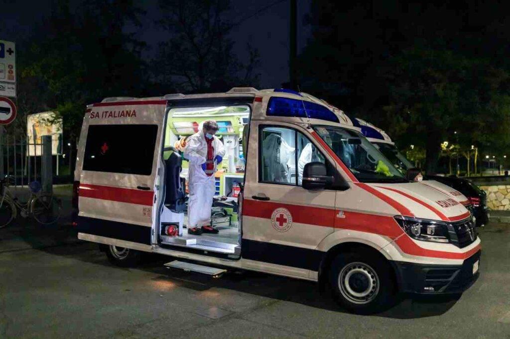Monza Incidente
