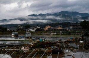 Giappone alluvione