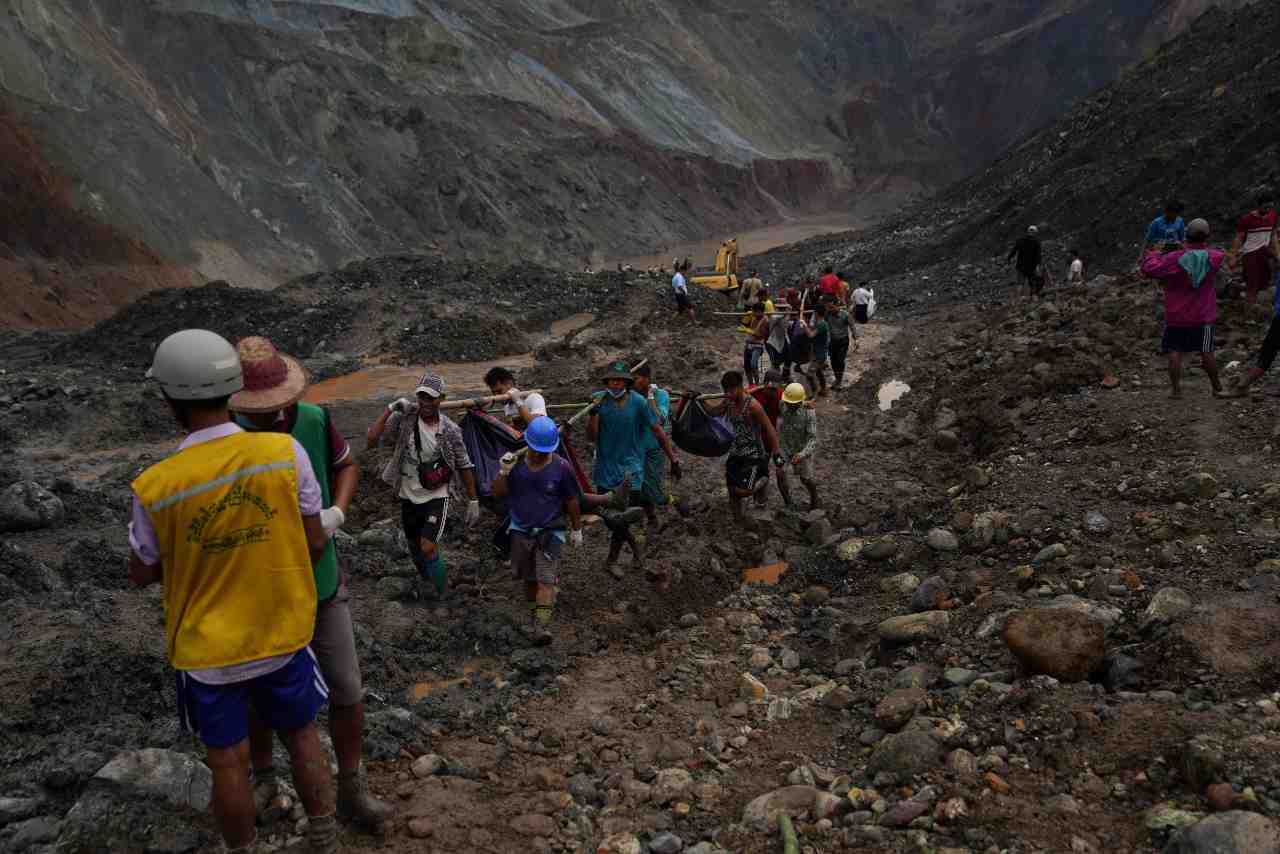 Miniere a Myanmar