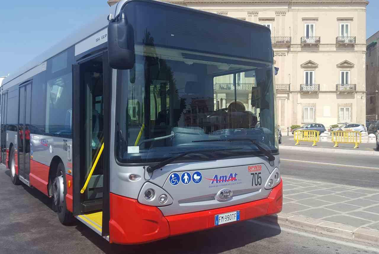 autobus taranto