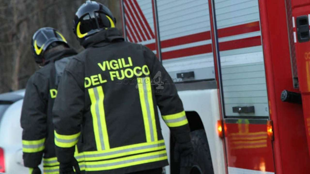 incendio in un residence