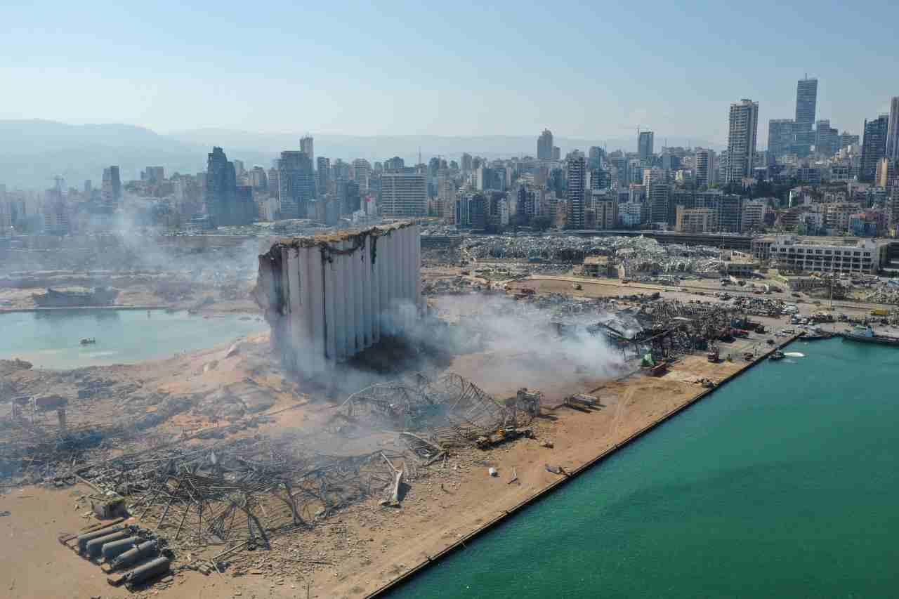 Beirut aria irrespirabile