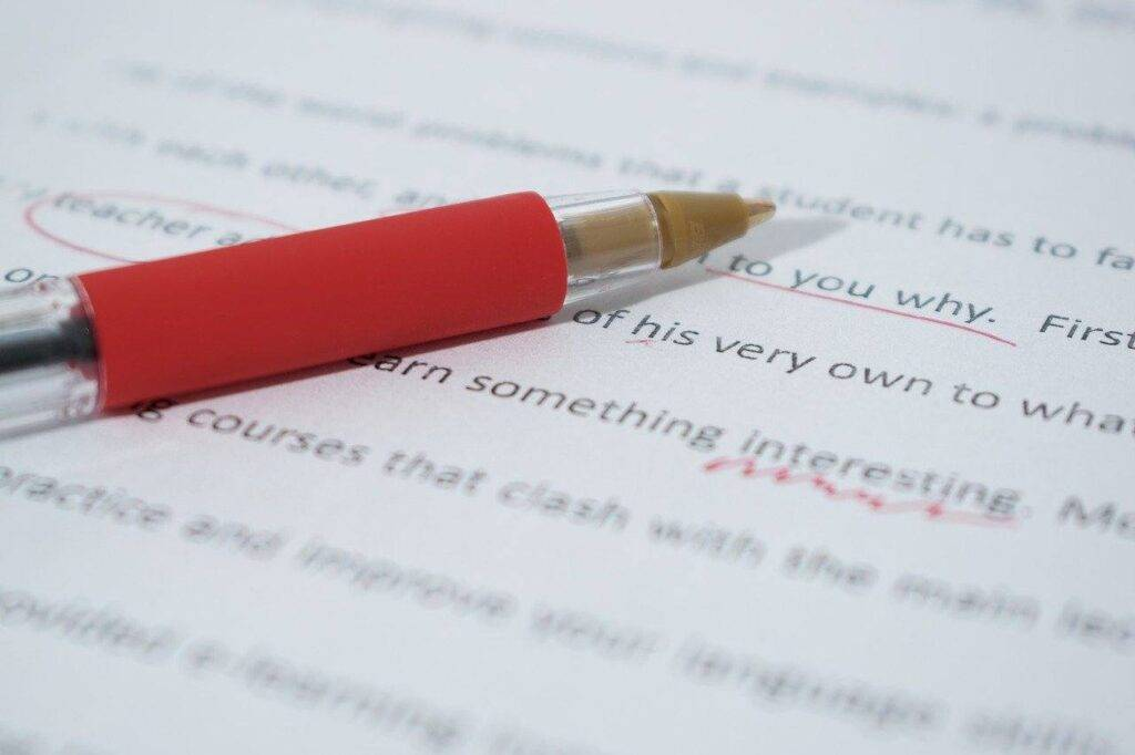Grammatica errori