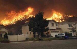 Maxi incendio in California