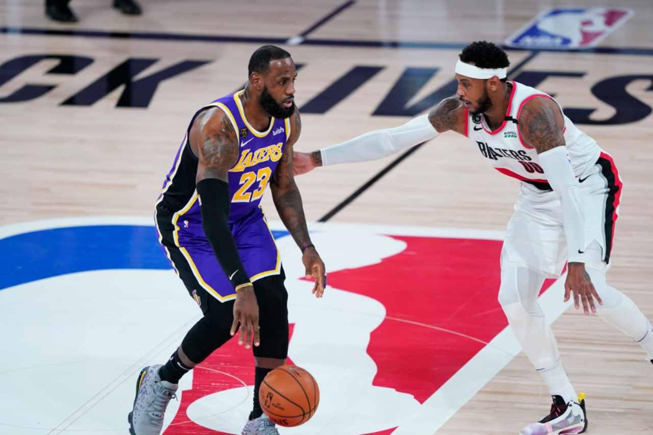 Nba: Lakers ok con LeBron, Gallinari lancia i Thunder