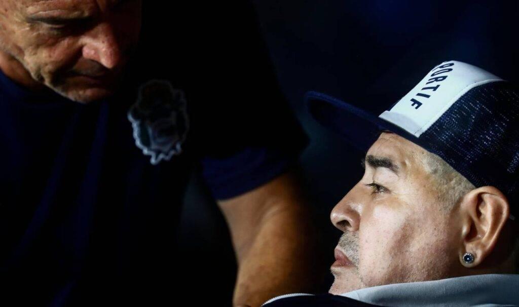 Maradona in lutto