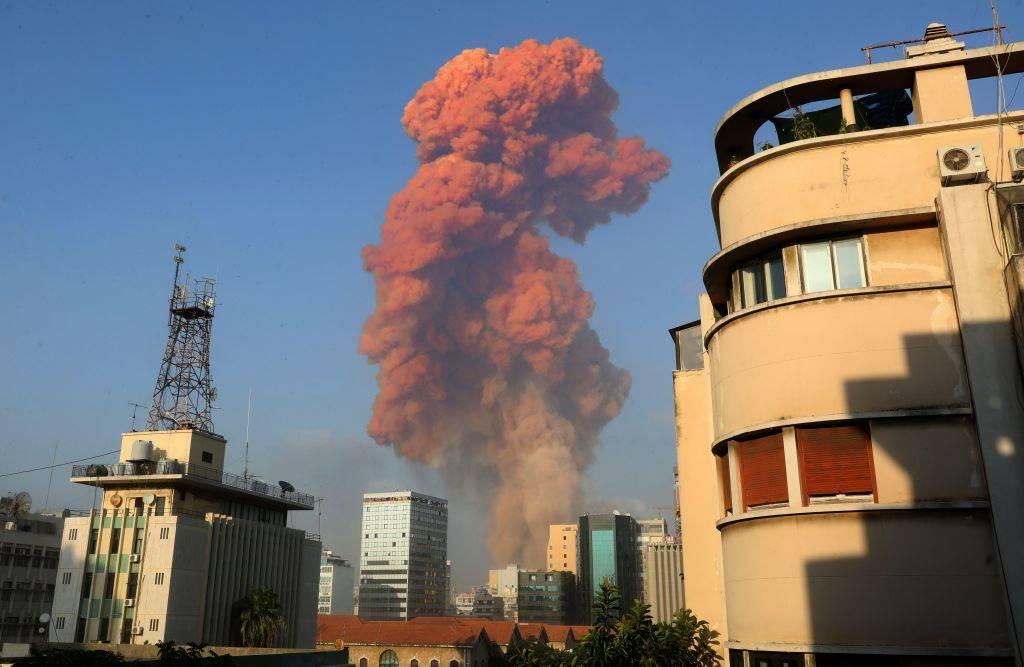 Beirut deposito di armi esplosivo