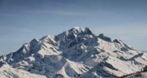 Alpinista morto sul monte Bianco