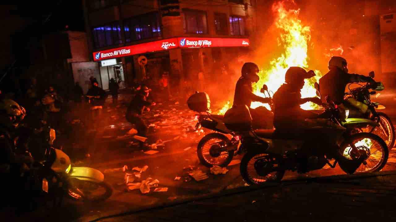 bogotà proteste