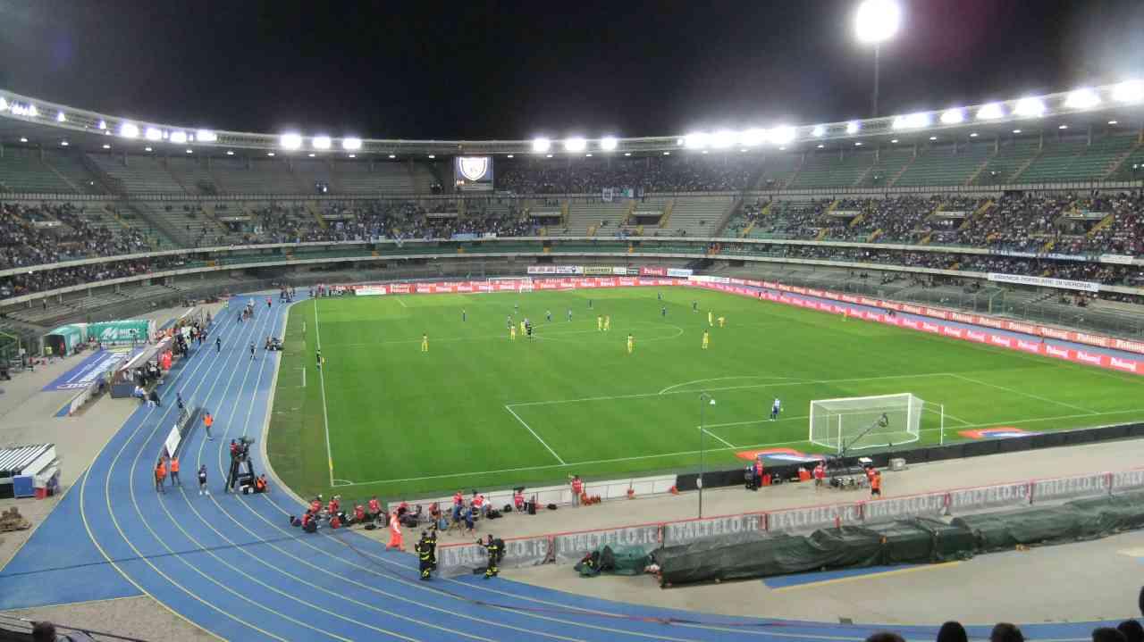 Anche il Veneto riapre gli stadi a mille spettatori