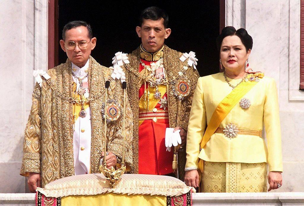 La famiglia reale della Thailandia