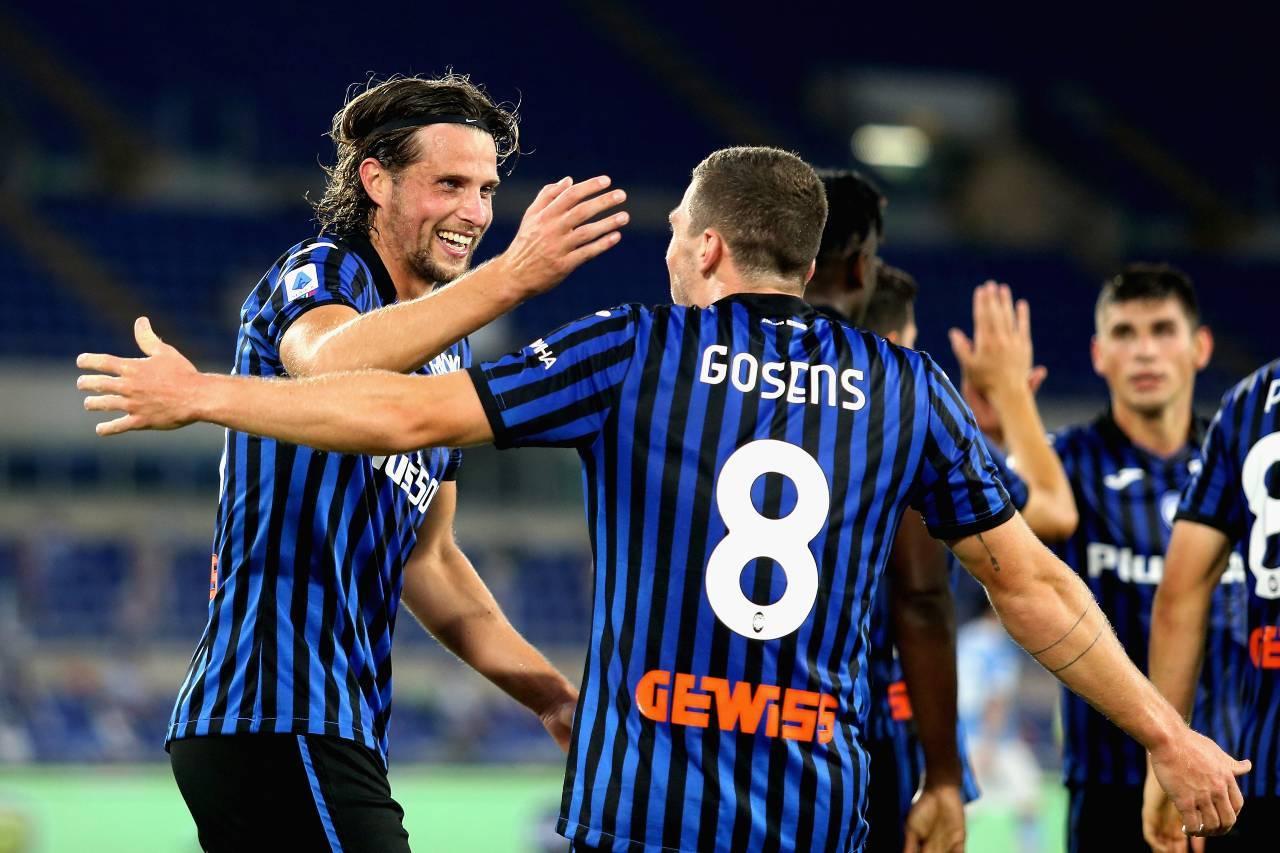 Atalanta Roma streaming gratis
