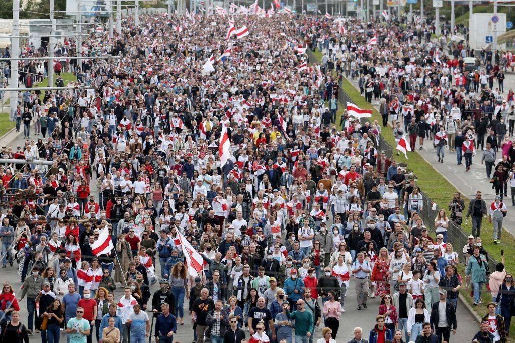 Proteste in Bielorussia