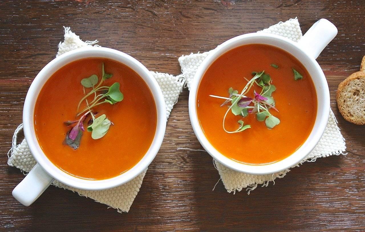 zuppa di verdure dietetica