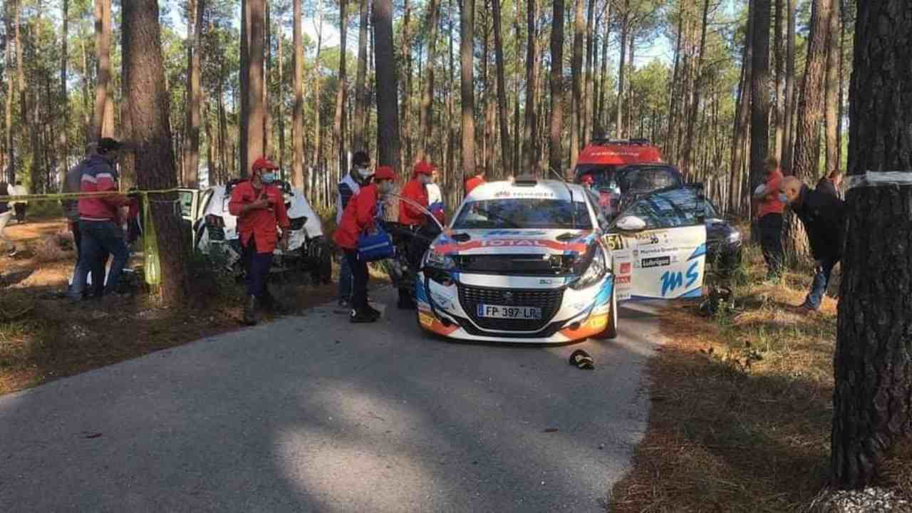 Rally Grande Marinha: muore in un incidente la copilota Laura Salvo