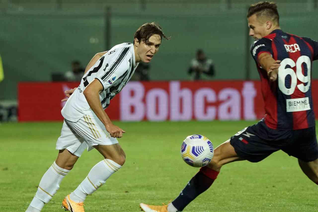 Crotone-Juventus 1-1: highlights, voti e tabellino dell'anticipo