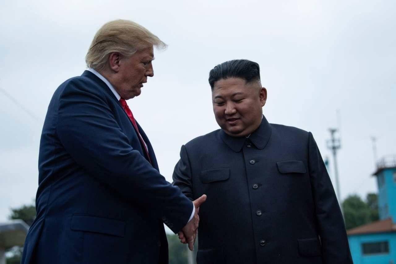 Coronavirus Trump Kim