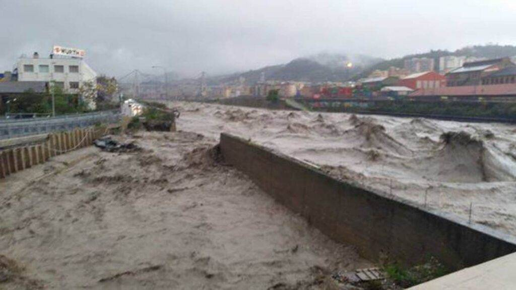 Maltempo Liguria